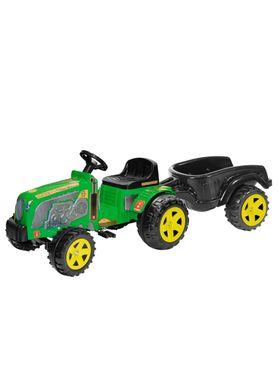Trator-Infantil-Fazendeiro-com-Cacamba-e-Pa-Verde-Biemme