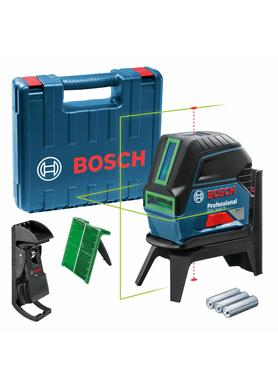 Nivel-a-Laser-Verde-Bosch-GCL-2-15G-Pontos-Prumo-15M-e-Maleta