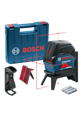 Nivel-a-Laser-Vermelho-Bosch-GCL-2-15-Pontos-Prumo-15M-e-Maleta