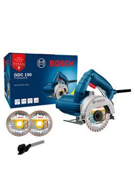 Serra-Marmore-Bosch-GDC-150-Titan-1500W-com-2-Discos