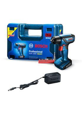 Furadeira-e-Parafusadeira-Bosch-GSR-1000-Smart---Kit-10-Bits-