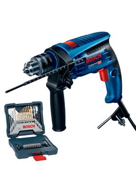 Furadeira-Bosch-de-Impacto-GSB-13-RE-650W-com-Kit-30-pecas