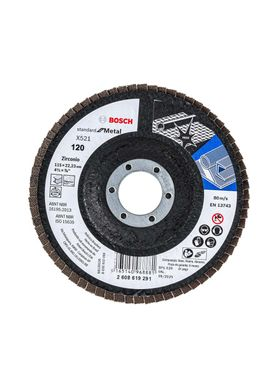 Disco-de-Lixa-Flap-Disco-Bosch-Standard-G-120-4.1-2-Pol