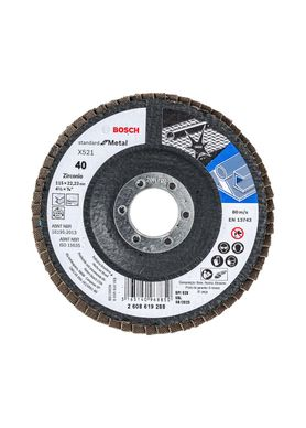 Disco-de-Lixa-Flap-Disco-Bosch-Standard-G-40-4.1-2-Pol
